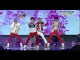 [Выступление - Cover] Zelo (B.A.P), Sungjae (Btob), Chunji (Teen Top), Donghyun (Boyfriend)  - Loving You (Sistar) (Music Bank Special - 2012.12.21)